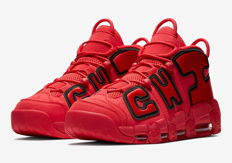 The Nike Air More Uptempo Chicago Will Be Releasing Sometime This Month!