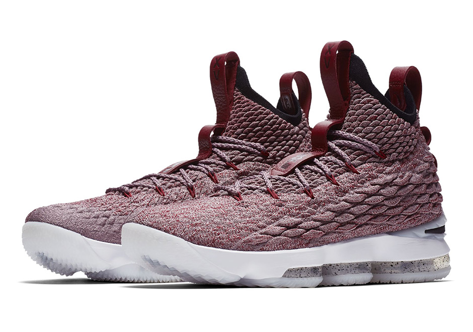 A New Nike LeBron 15 Red & White Colorway Surfaces!
