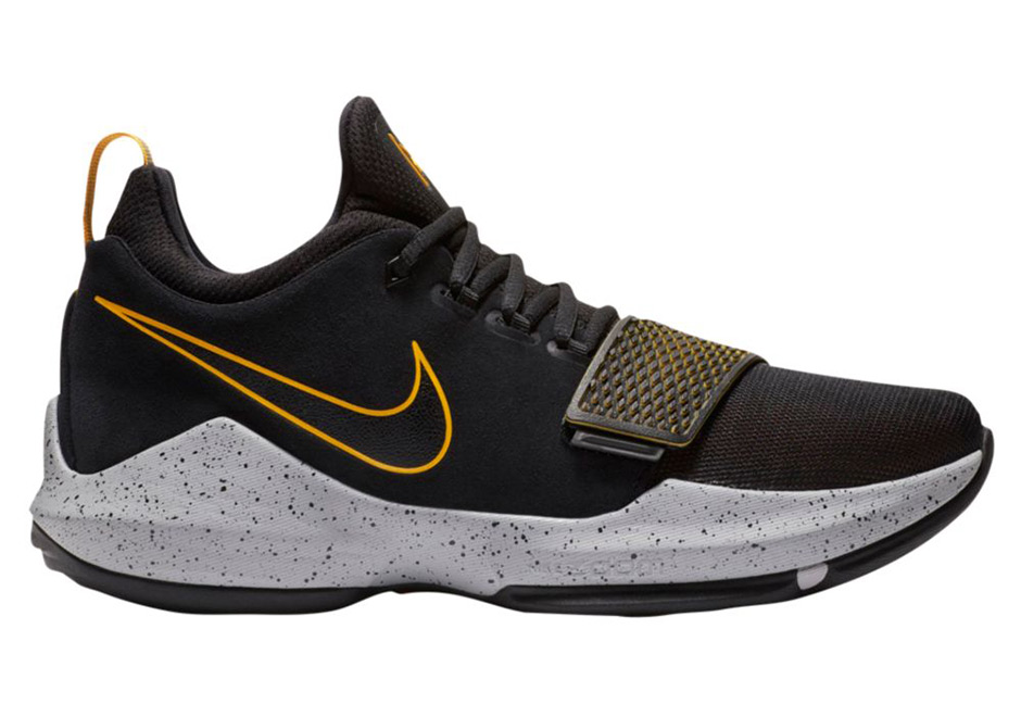 eb97303a77c7 The Nike PG1 Black   University Gold Will Be Releasing On November 18th!