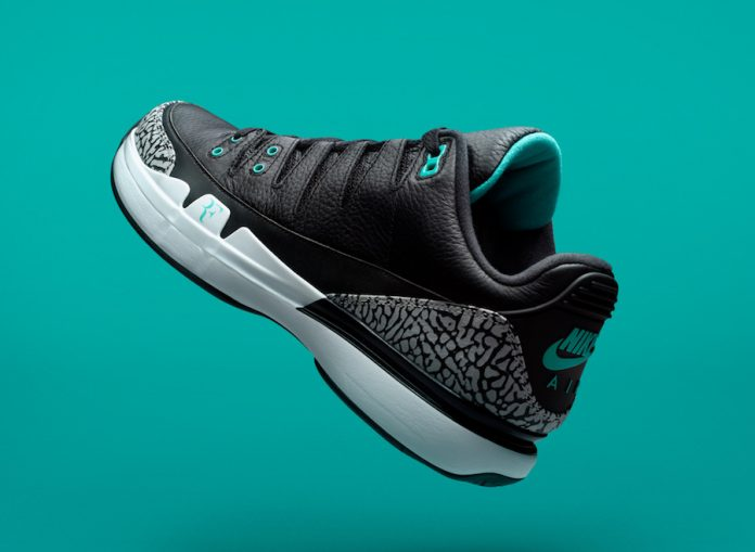 The Nike Zoom Vapor Tour Air x Jordan 3 Atmos Collab Releases In November!
