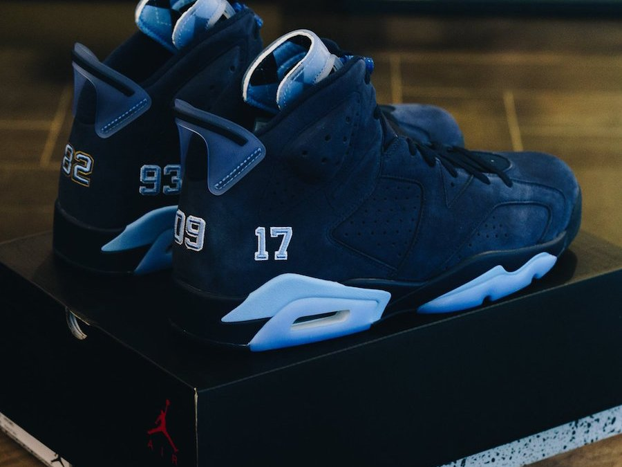 Trophy Room Gives Us A Look At The Alternate Air Jordan 6 Championship PE!