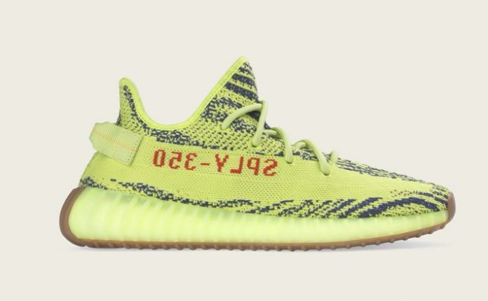 The Adidas Yeezy 350 Boost V2 Semi Frozen Releases This Weekend!