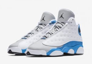 Official Images Of The Air Jordan 13 GS Italy Blue & Release Info Have Arrived!