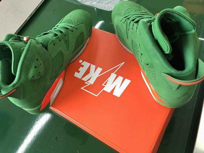 The Air Jordan 6 Gatorade Green Suede Will Be Releasing On December 30th!