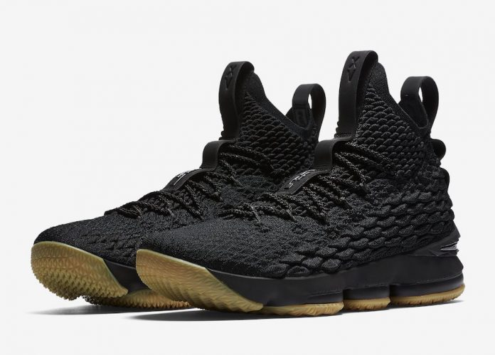 The Nike LeBron 15 Black Gum Will Be Releasing On Black Friday!