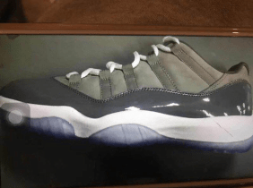 The Air Jordan 11 Low Cool Grey Will Be Releasing In April Of 2018!
