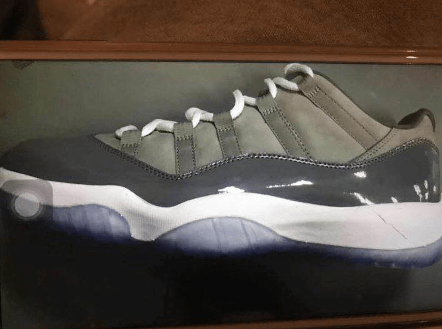 competitive price 75293 0db21 The Air Jordan 11 Low Cool Grey Will Be Releasing In April ...