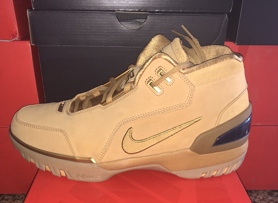 decdd58489c The Nike Lebron Zoom Generation QS Wheat Returns For All-Star Weekend!