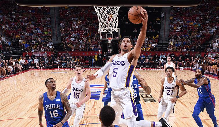 beae2f8d95f Lakers' Josh Hart Named 2018 Las Vegas Summer League MVP ...