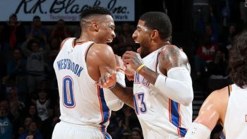 The Thunderous Duo Of Westbrook & George Too Dominant For Portland As Thunder Win (120-111)