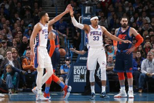 OKC Thunder Come Up Short Against 76ers Without Paul George (108-104)