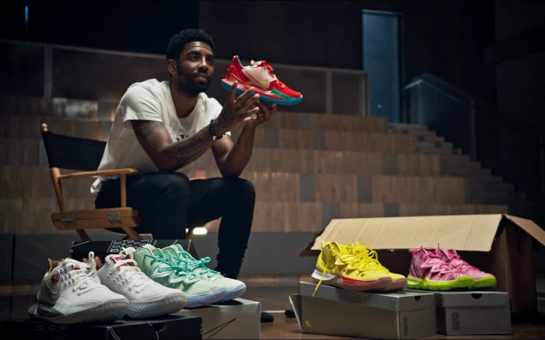 the latest 1e291 819e7 Kyrie Irving, Nike, and Nickelodeon Channel Their Youth with ...
