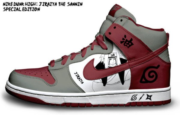 Customisation de sneakers Nike Dunk Low et High Air Max