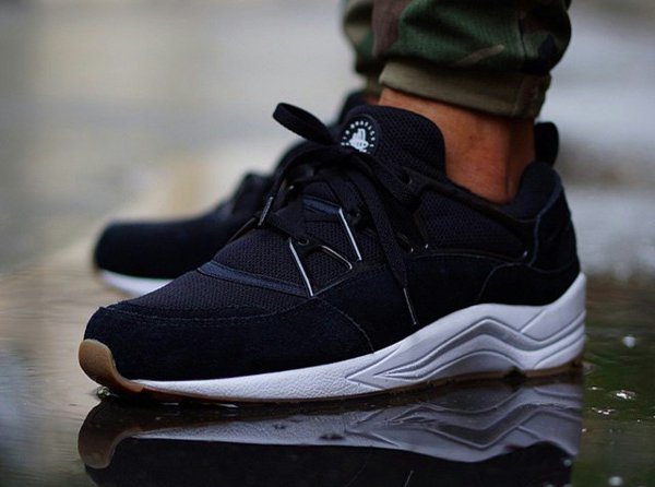 Nike Air Huarache Light Black Gum Sneakers Actus