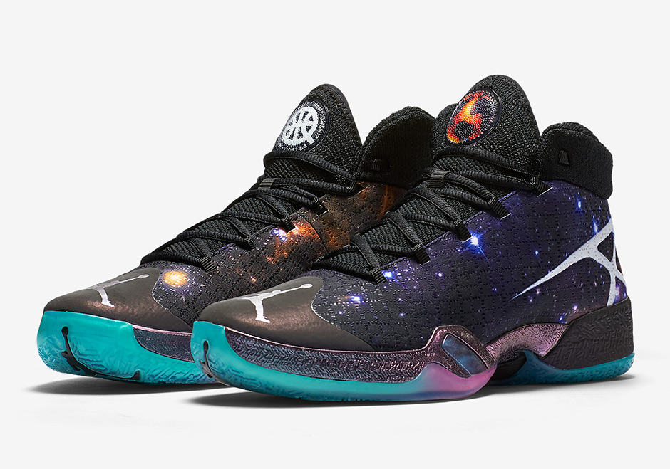 Air Jordan XXX Quai 54 Cosmos Galaxy
