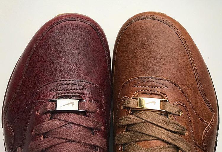 odluciti naucnik tri nike air max 1 id will premium leather brown brown