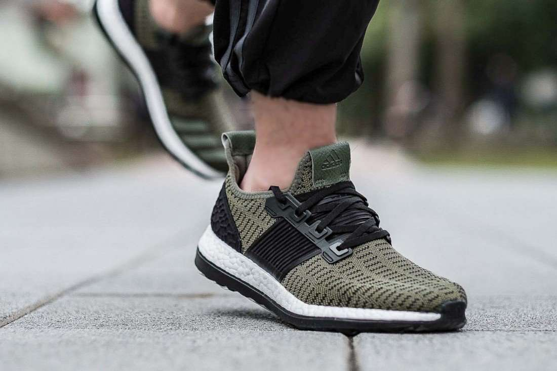 Adidas Ado Pure Boost ZG One Day Collection Olive