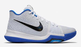 Sepatu sneakers Nike Kyrie 3 Hyper Cobalt/White-Chlorine Blue-Volt