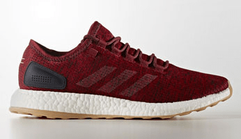 adidas Pure Boost Burgundy/Mystery Red-Night Navy