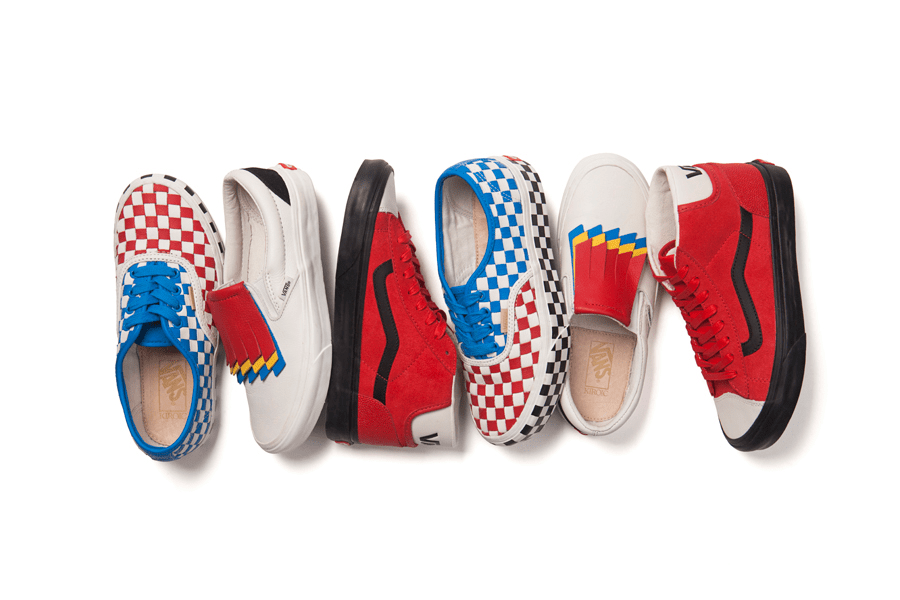 Vans Year of the Rooster Collection,  Merek Sepatu - Vans