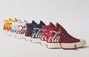 Sneaker kolaborasi terbaru KITH x Coke x Converse Chuck Taylor