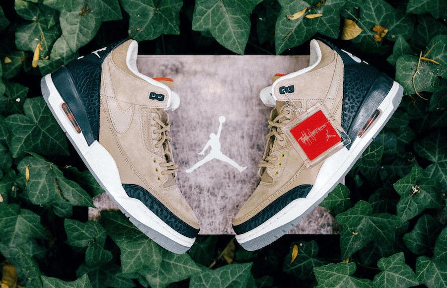 """gambar sepatu Air Jordan 3 JTH """"Bio Beige"""""""