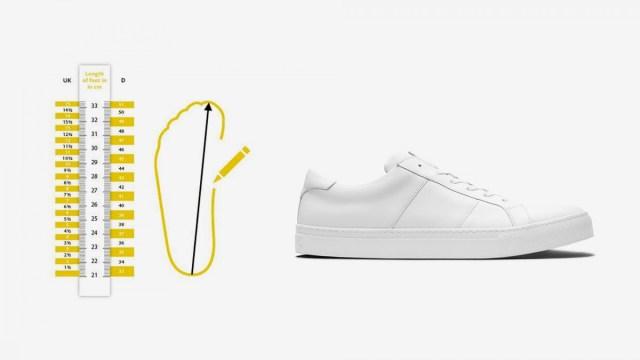 Ukuran Sepatu Cara Menentukan Ukuran Yang Nyaman Sneakers Co Id