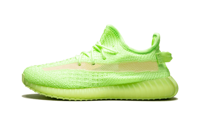 Adidas Yeezy Boost 350 V2 GID Kids 'Glow in the Dark' - Size 11.5K