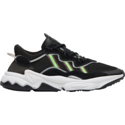 adidas Originals Ozweego Running Shoes - Black / Solar Green Onix