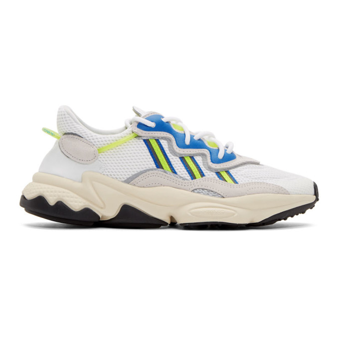 adidas Originals White Ozweego Sneakers