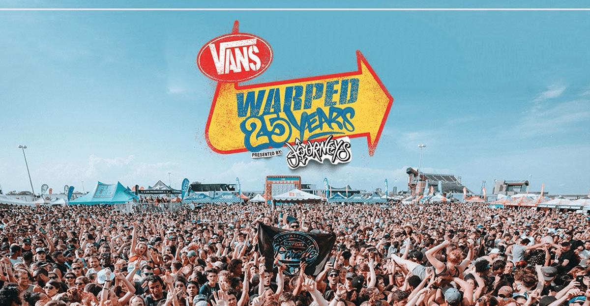 Sepatu Vans sponsori Vans Warped Tour