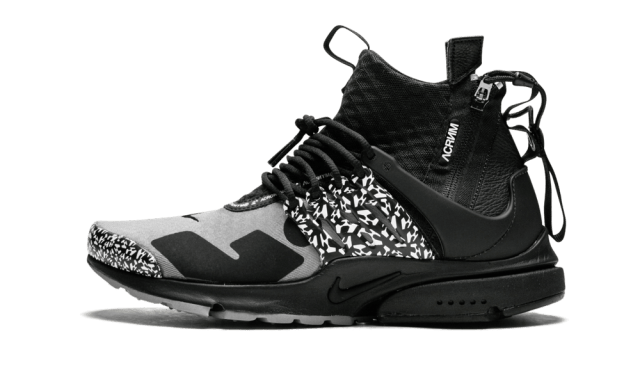 Nike Air Presto Mid /Acronym 'Acronym - Cool Grey' Shoes - Size 10