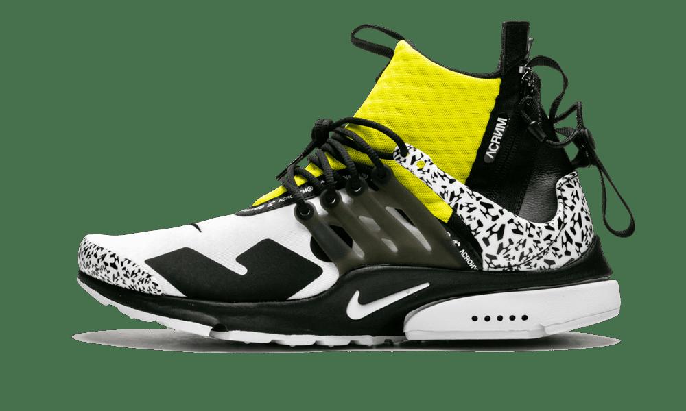Nike Air Presto Mid/Acronym 'Acronym - Dynamic Yellow' Shoes - Size 10