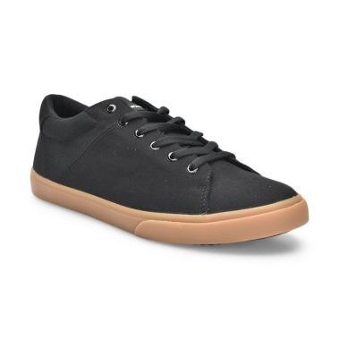 Airwalk Leddie Sepatu Sneakers Pria - Black Camel