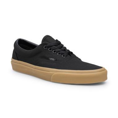 Vans U Era Sepatu Sneaker Pria - Black Classic Gum