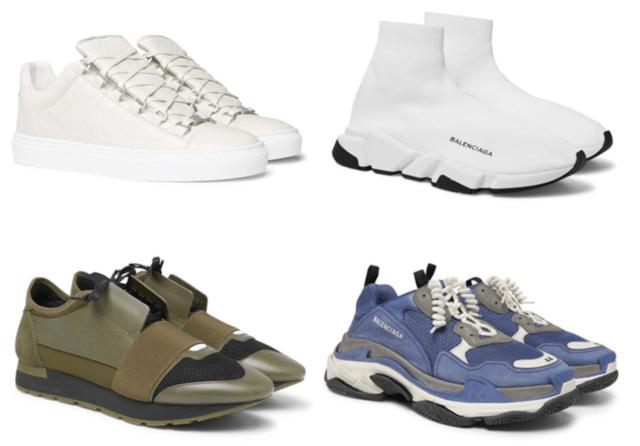 Sepatu Luxury Sneakers Balenciaga Terbaik