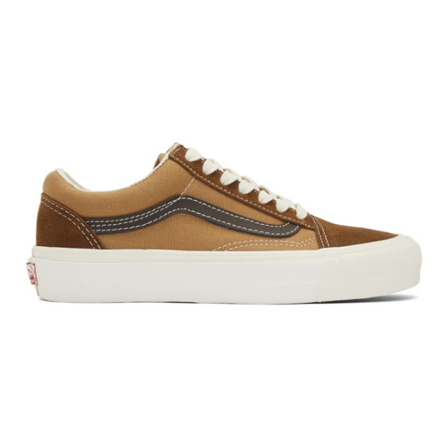 Vans Brown OG Old Skool LX Sneakers