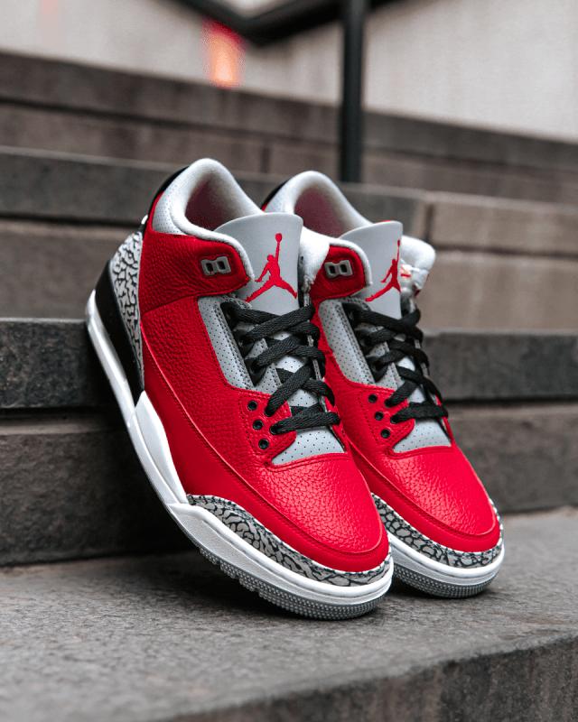 """Air Jordan 3 """"Red Cement"""""""