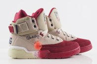 Ewing 33Hi cream/burgundy