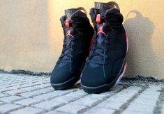 Nike Air Jordan VI Black Infared 384664-060