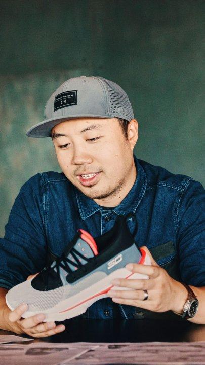 Leon Gu, diseñador de las Under Armour Curry 7