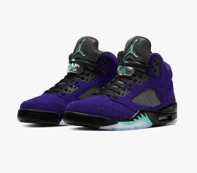 Air Jordan 5 'Alternate Grape'July 8, 2020