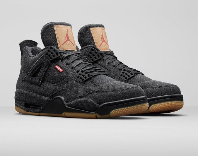 Release Date: Levi's x Air Jordan 4 'Black