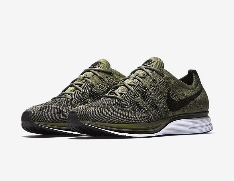 Release Date: Nike Flyknit Trainer 'Light Olive'