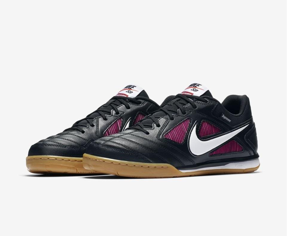 Supreme x Nike SB Gato 'Black/Real Teal