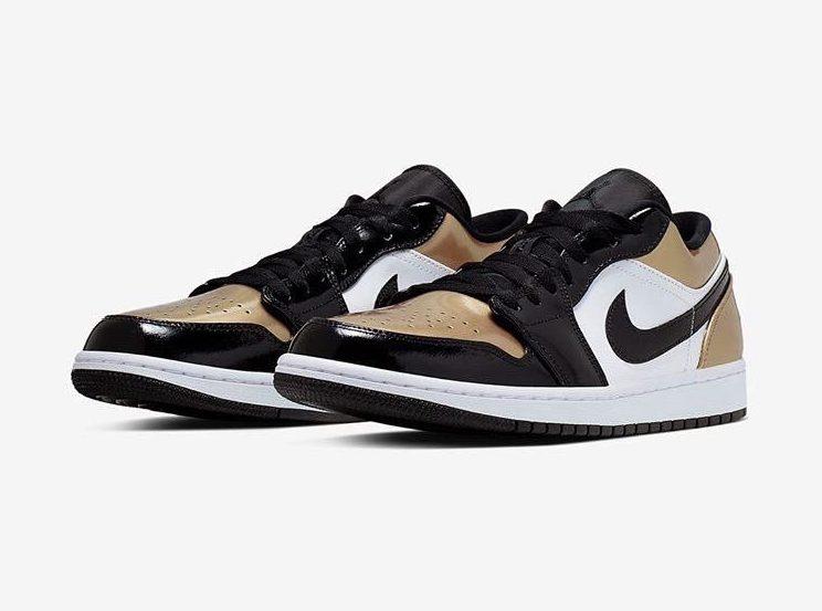 First Look: Air Jordan 1 Low 'Gold Toe'