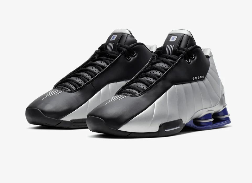 Release Date: Nike Shox BB4 'Metallic Silver'