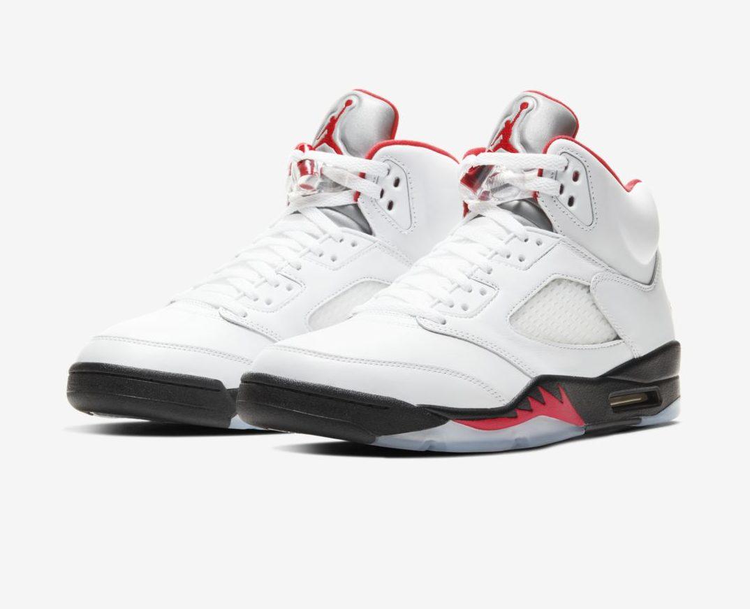 Air Jordan 5 'Fire Red'May 2, 2020