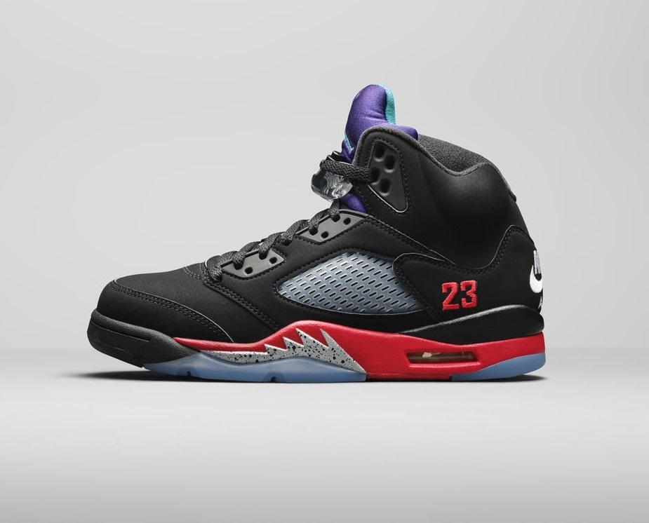Air Jordan 5 'Top 3'June 13, 2020
