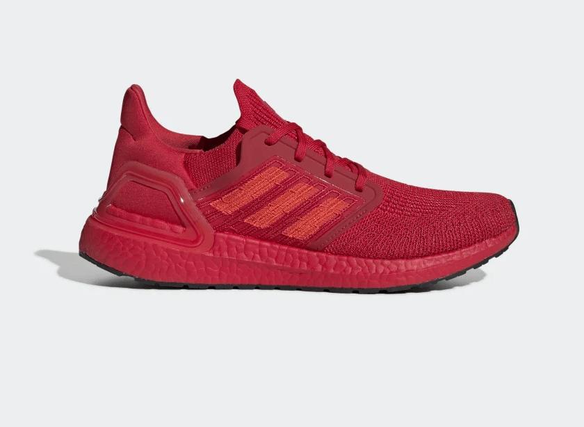 Release Date: adidas UltraBOOST 20 'Triple Red'
